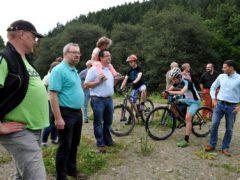 Besichtigung des Bikeparks in Plettenberg