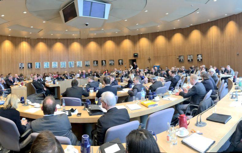 Erste Fraktionssitzung in Düsseldorf