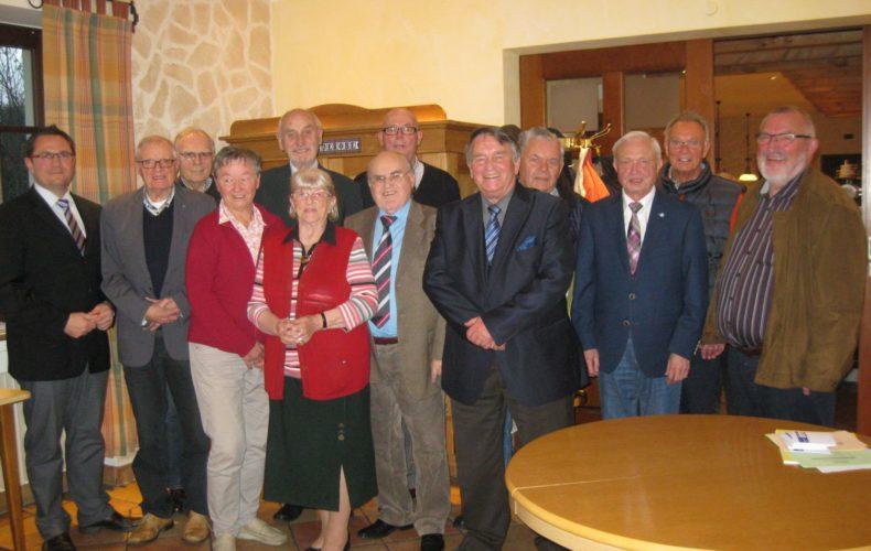 Jahreshauptversammlung der Senioren Union Menden