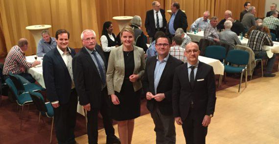Christina Schulze Föcking zu Gast in Neuenrade