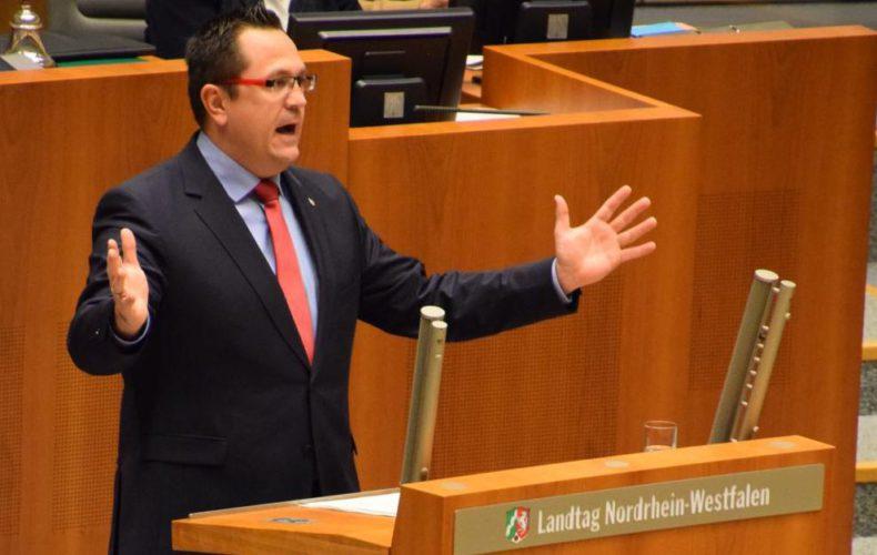 Erste Rede im Plenum