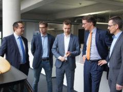 Verkehrsminister Hendrik Wüst zu Gast in Neuenrade