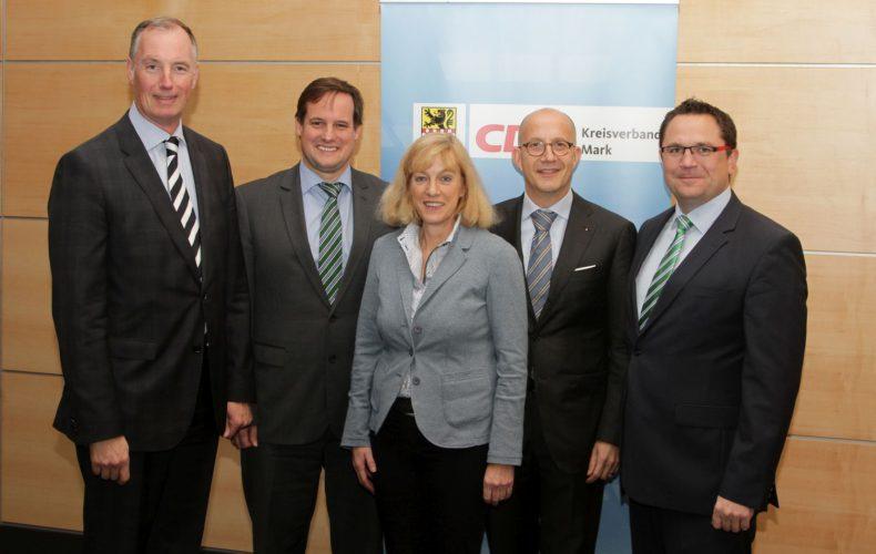 CDU im Märkischen Kreis stellt sich für Wahlen im kommenden Jahr auf