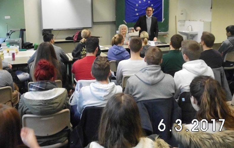 Vortrag von Marco Voge am Berufskollegs des Märkischen Kreises