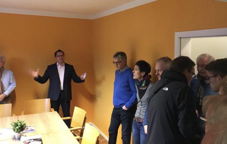 Eröffnung des neuen Wahlkreisbüros