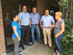 Sommertour: Marco Voge informiert sich über Arbeit der Hans-Prinzhorn-Klinik