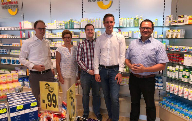 Start Gesundheitstour: Besuch bei Apotheke Köster in Lendringsen