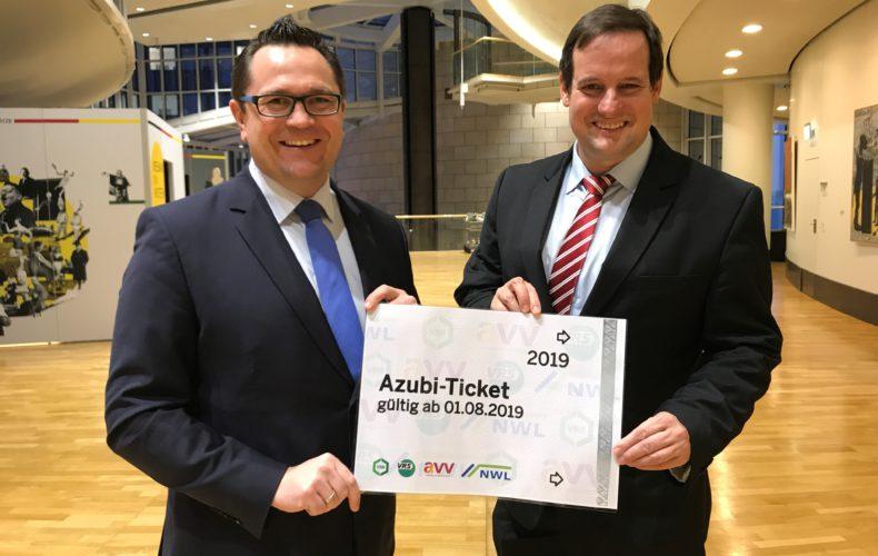 Landesweites, freiwilliges Azubi-Ticket geht an den Start