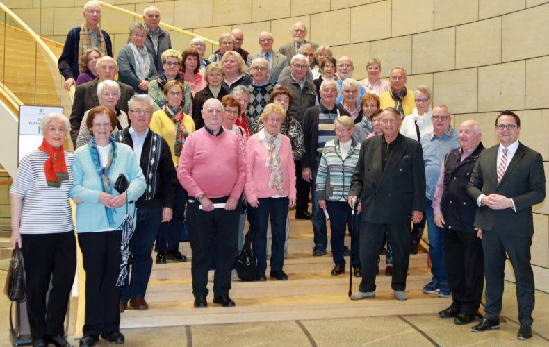 Senioren Union Menden zu Gast im Landtag