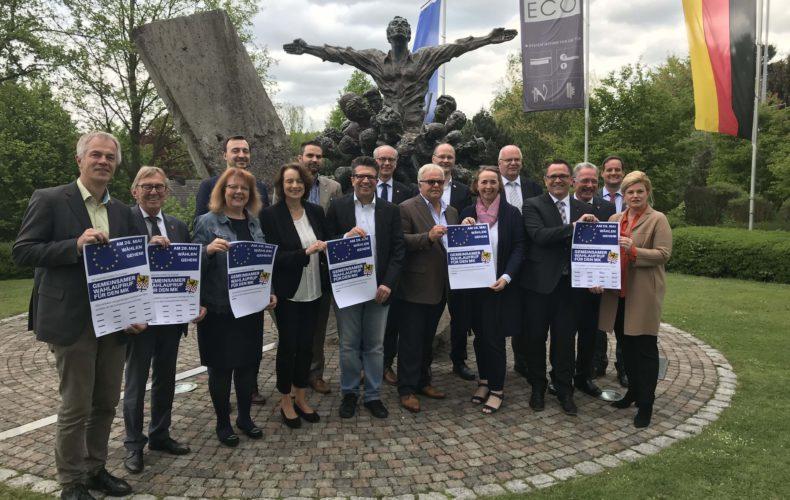 Gemeinsamer Wahlaufruf der Politik im Märkischen Kreis zur Europa-Wahl