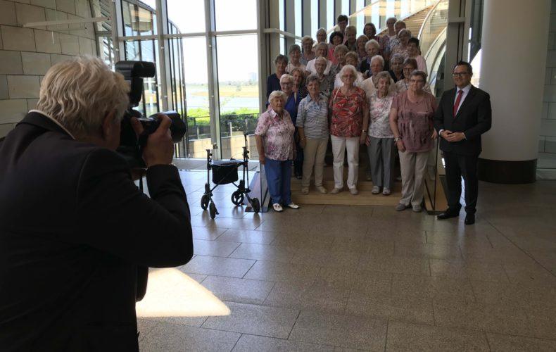 Frauentreff Landlust besucht heimischen Landtagsabgeordneten Marco Voge