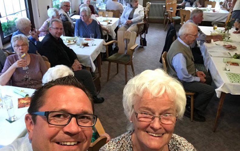 Marco Voge zu Gast beim Seniorentreff Langenholthausen