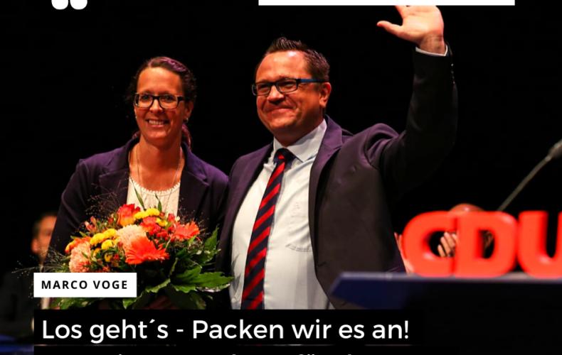 Aufstellungsversammlung der CDU MK
