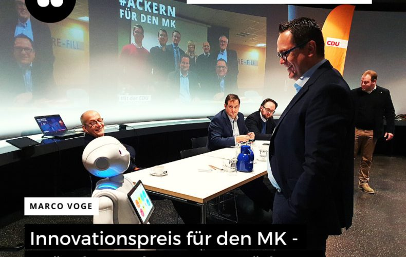 Innovationspreis für den Märkischen Kreis!