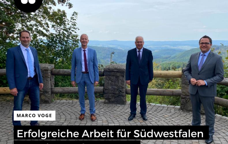 Zusammenarbeit der Kreise in Südwestfalen