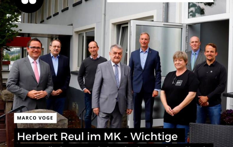 Herbert Reul zum Fachgespräch in Lüdenscheid