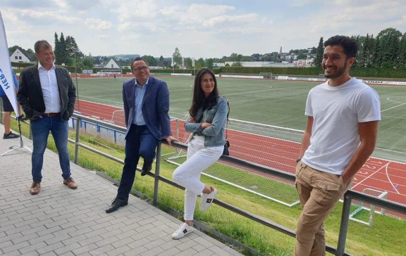 Termin beim RSV Meinerzhagen mit Nuri Sahin